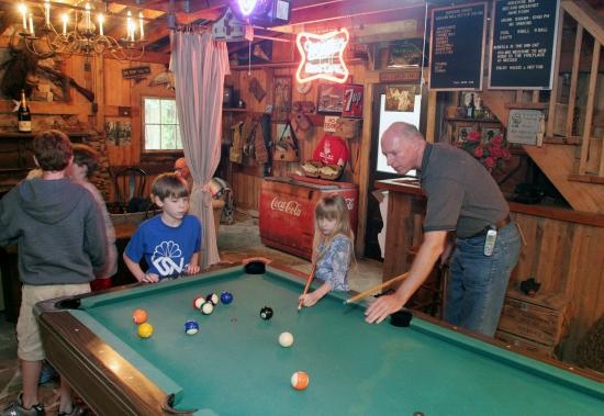 Rosevine Inn Bed & Breakfast and Extended Stay Lodging: Gameroom-Billiards Anyone!
