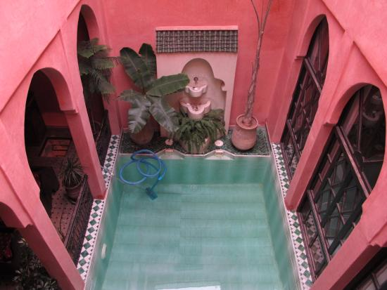 Riad Aderbaz: View from our room