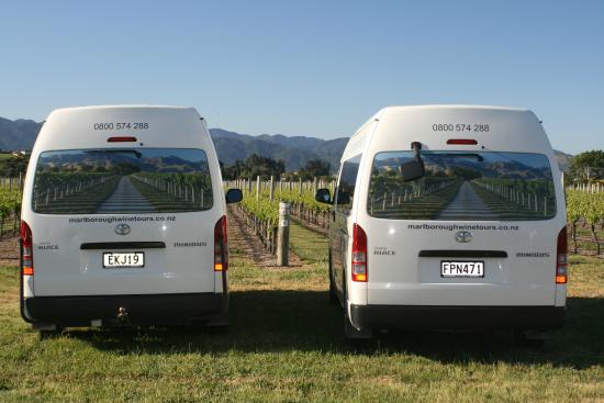 Marlborough Wine Tours : New van image