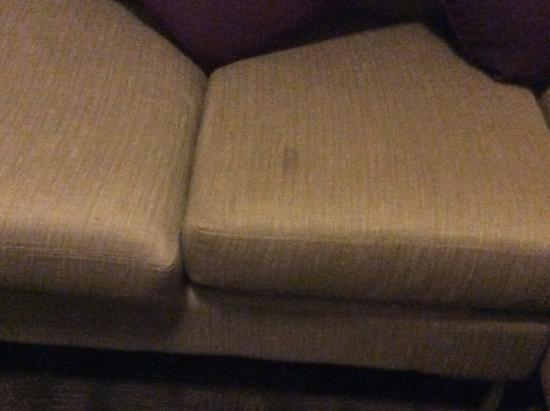 Sandman Signature Toronto Airport Hotel: Couch stained