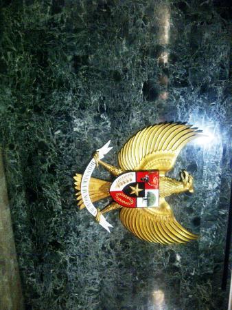 Lambang Negara Burung Garuda Di Ruang Kemerdekaan Picture Of