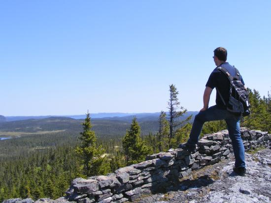 Glovertown, Kanada: Enjoying the landscape