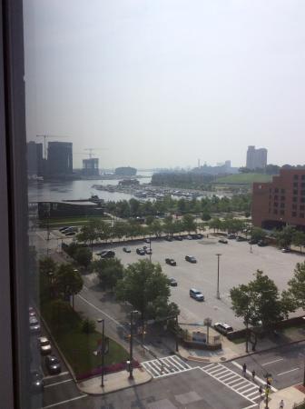 Sheraton Inner Harbor Hotel: View