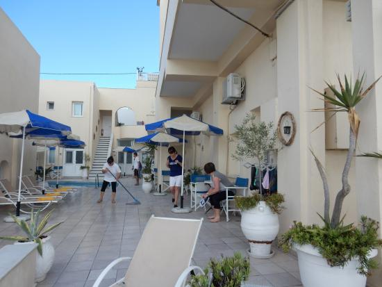 View from the road. - Picture of Reverie Santorini Hotel ...