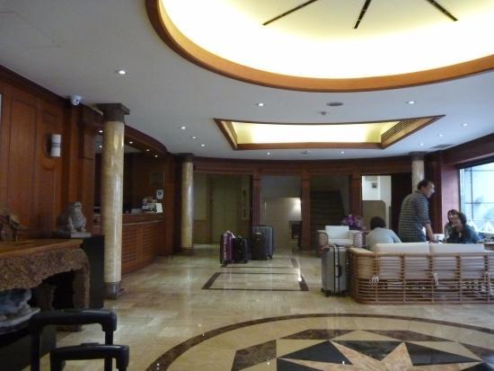 Empress Hotel: ロビー