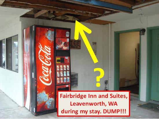 Front Of Hotel Fairbridge Inn Suites Leavenworth Wa