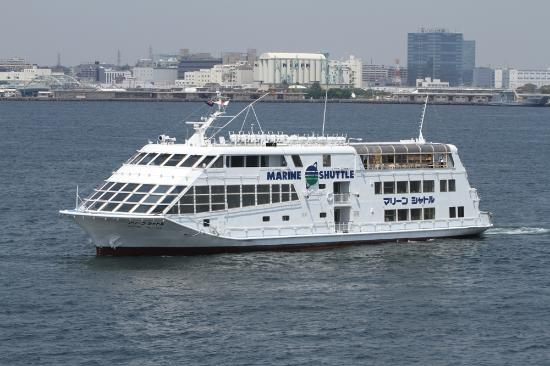 Yokohama Bay cruise