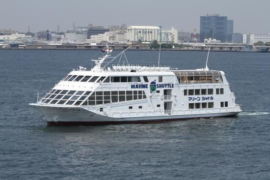 Yokohama Bay cruise