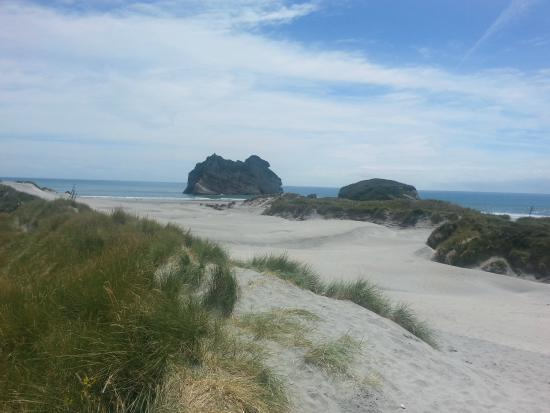 Tops Adventure Tours - Day Tours: Wharariki Beach