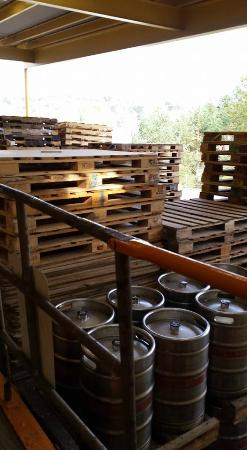 Straub Brewery: dock