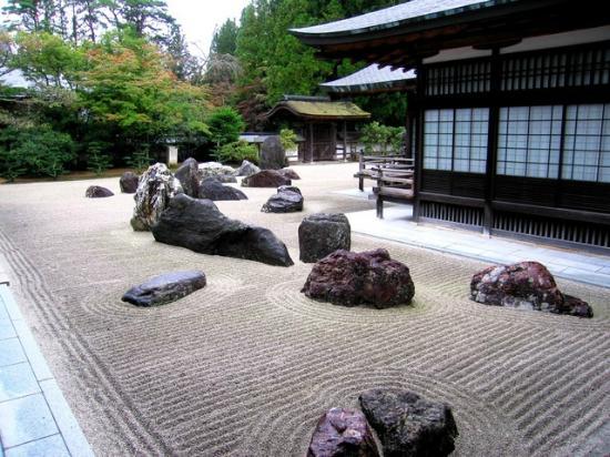 cat tuong quan zen house japanese rock garden karesansui also known as - Zen Rock Garden