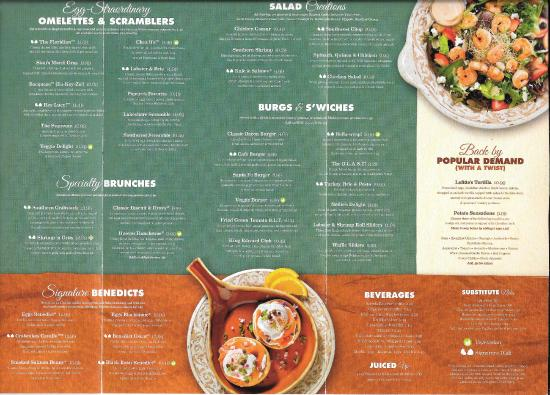 Le Menu - Picture of Another Broken Egg, Mountain Brook - TripAdvisor