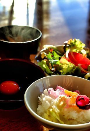 Yuni-cho, Giappone: Great breakfast