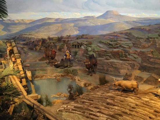 Diorama Bethlehem: Great effect