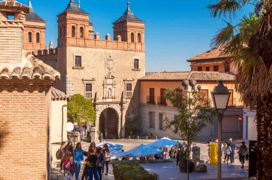 Views Of The Gate Picture Of Puerta Del Sol Toledo