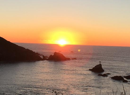 Albion, CA: Beautiful Sunset