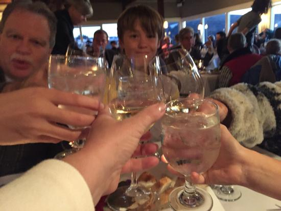 Albion, CA: Our Thanksgiving toast