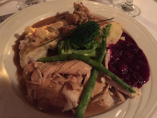 Albion, CA: My Turkey Dinner