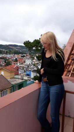 Villa Pink House: Вид из балкона
