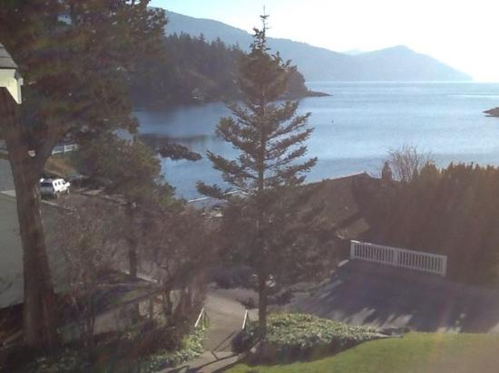 Eastsound, WA: View from our room.