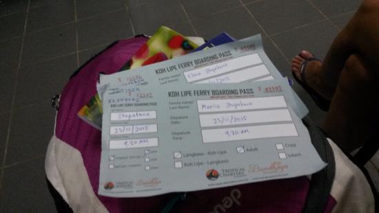 Langkawi Ferry: билеты на ко липе