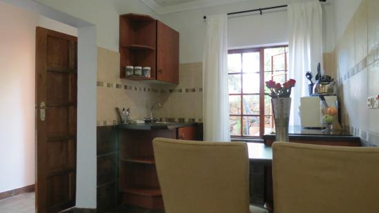 Dinkwe Guest House: Deluxe Suite Kitchenette