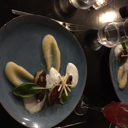 Foie gras poil foto di le jean moulin lione tripadvisor - Foto poile ...