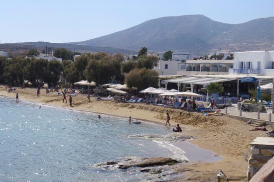 Schinoussa, Grekland: Nice Beach