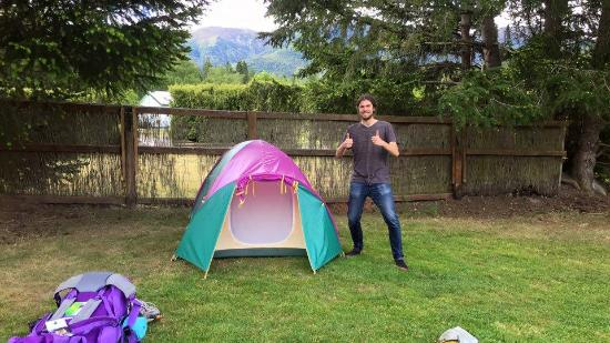 Alpine Holiday Apartments & Campground: Our spot