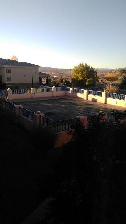 Motel 6 Page: View from our window - the pool closed for winter