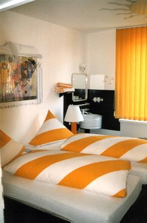 Hotel Tusculum: Doppelzimmer: Sonnenzimmer