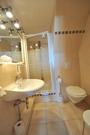Hotel Am Alten Strom: Badezimmer