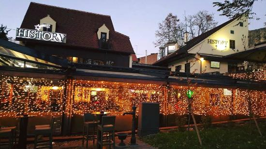 History village caffe bar food club picture of for Food bar zagreb