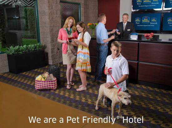 ‪بست ويسترن بلاينز موتل: Pet Friendly Hotel‬