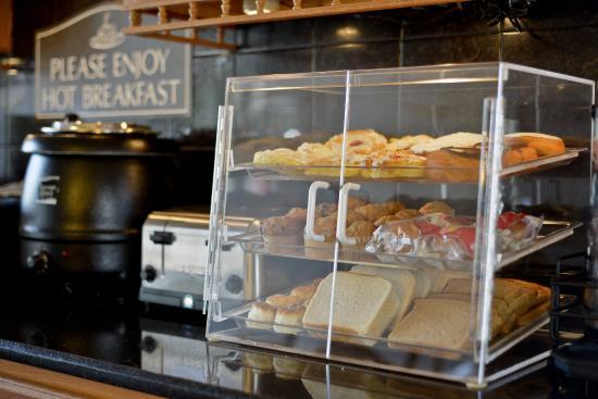 Pastry Cabinet - Picture of Best Western Inn, Goshen - TripAdvisor