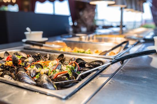 Hotel Rimouski: Hotelrimouski Lunchbuffet