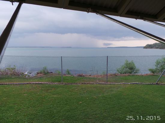 Tiwi Islands, Avustralya: View from private area