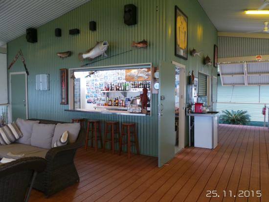 Tiwi Islands, Australien: Bar Dining Area