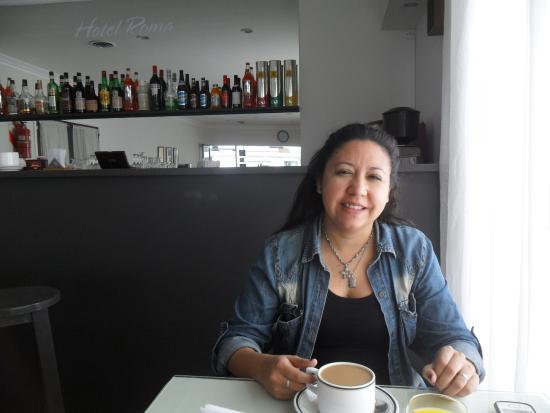 Hotel Roma: disfrutando un buen desayuno
