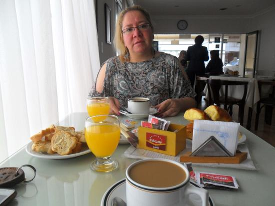 Hotel Roma: disfrutando del desayuno