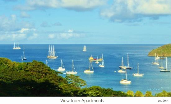 Belmont, Bequia: View from Apartments