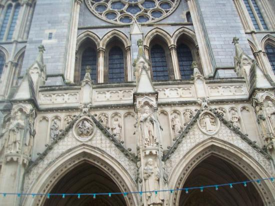 Truro Cathedral: front entrance
