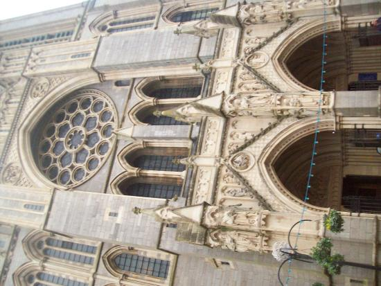 Truro Cathedral: front