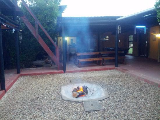 Addo, Güney Afrika: Binnenplaats