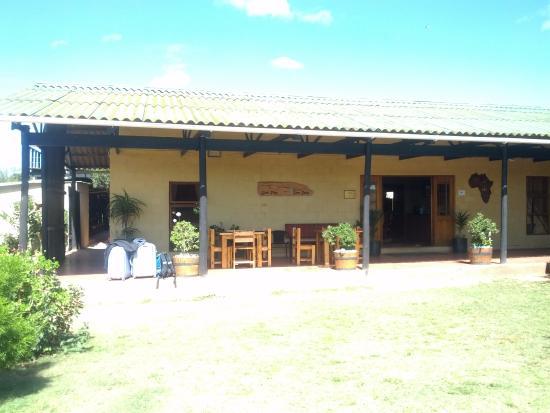 Addo, Güney Afrika: Hoofdgebouw