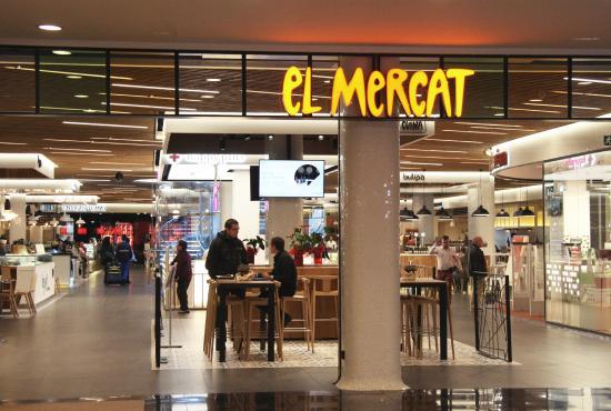 Entrada el mercat picture of el mercat de glories - El mercat de les glories ...