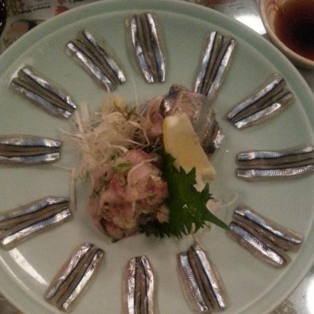 Goshi Japanese Restaurant: sashimi