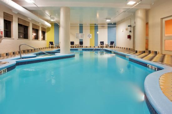 Indoor swimming pool picture of holiday inn suites - Holiday inn hotels with swimming pool ...
