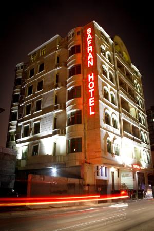 Safran Hotel night view