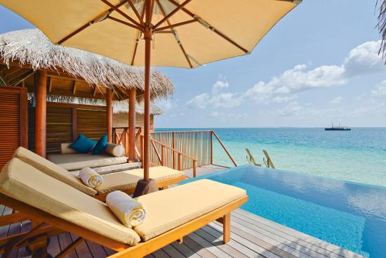 PER AQUUM Huvafen Fushi : Lagoon Bungalows With Pool - Exterior